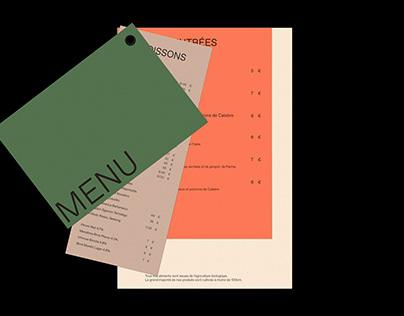Forvio Restaurant - Brand design
