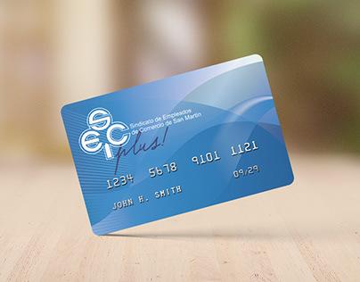 Diseño de tarjeta de afiliados - SEC San Martín