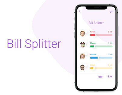 Bill Splitter app