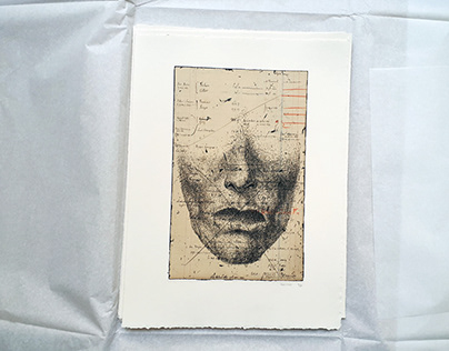 """THE EVAPORATED"": available etching."