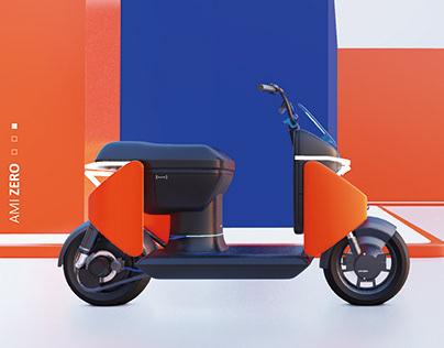 Citroen AMI Zero Scooter Concept