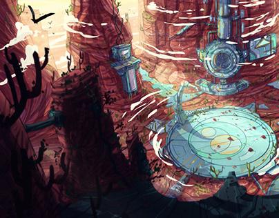 Transformers Environment VIsual Dev.