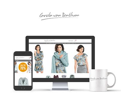 Carola van Benthum Website