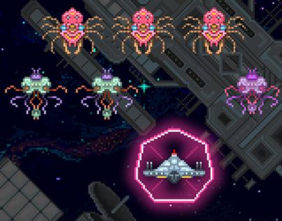'Galactic Nemesis' iOS - Game Artwork