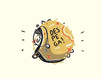 Moztritos - Sticker pack