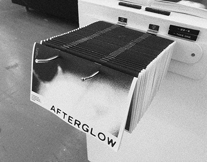 AFTERGLOW Catalogue Design