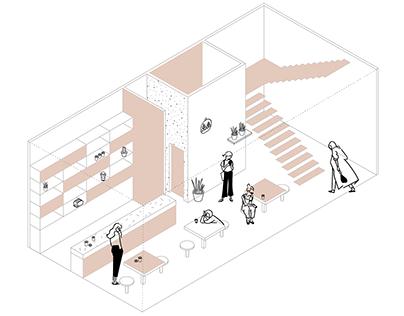 Isométricas Habitação Vertical