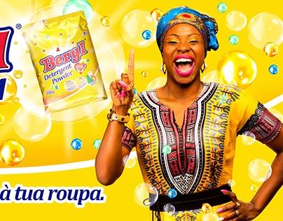 BERYL detergent - campaign Mozambique