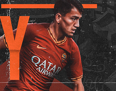 Roma vs. Milan Matchday Design for Cengiz Ünder