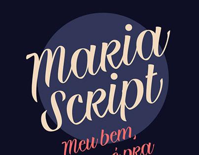 MARIA SCRIPT - FREE HANDWRITTEN FONT
