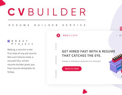 CV Builder service