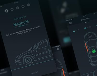 MagnuM Car App