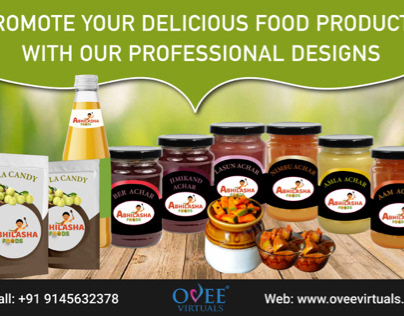 Professional Package design for your food products