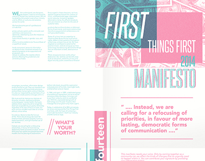 Publication - First Things First