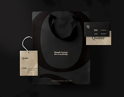 Qualier - Fashion Boutique Branding