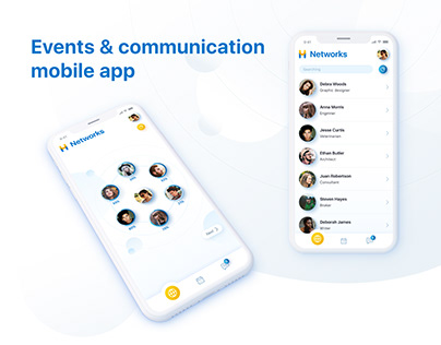 Events & communication mobile app