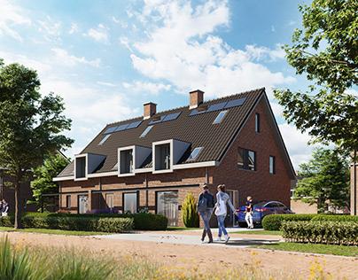 Houses in Herpen
