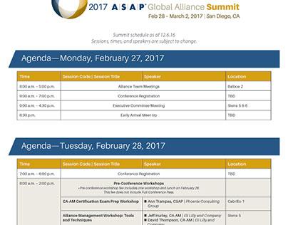 The Annual ASAP Global Alliance Summit