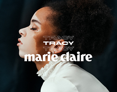 Tracy for Marie Claire Arabia