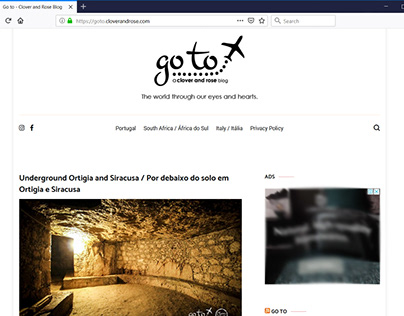 Go to blog - design, copy-writing, photography