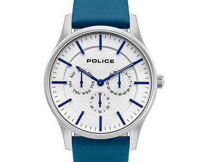 Police Watch Packshot Retouch