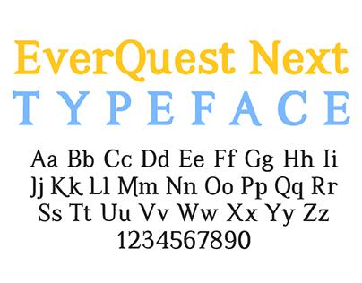 EverQuest Next Font