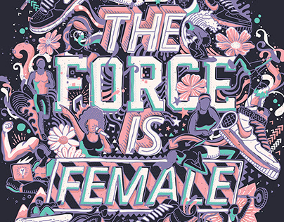 The Force is Female // Nike Air Force