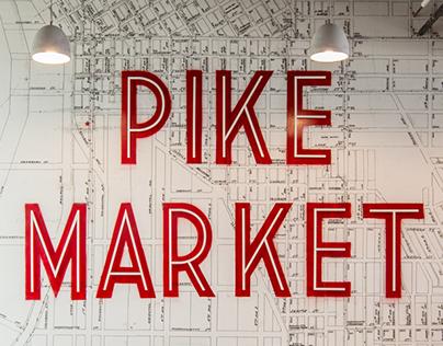 Pike Market Mural