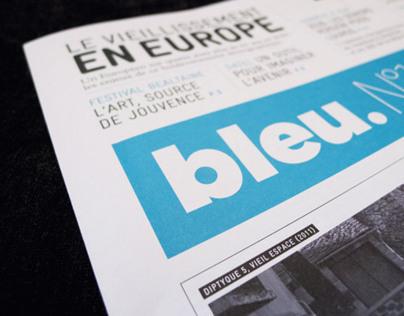 Bleu Newspaper