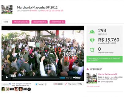 Crowdfunding Marcha da Maconha SP 2012