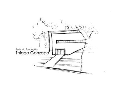 Estudo para sede da Fundação Thiago Gonzaga