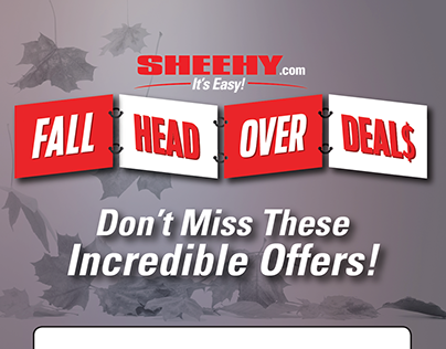 Sheehy's Fall Head Over Deals Sales Event