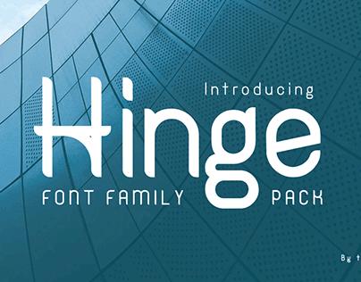   Font   Hinge Sans Serif   Commercial Use