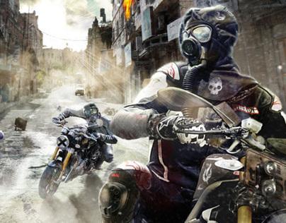 Post Apocalypse Street Chase