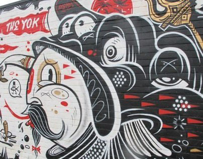 The Yok X Sheryo Walls 2011