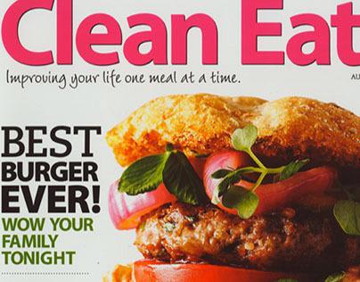 Clean Eating magazine Work