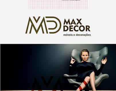Identidada Visual - Max Decor