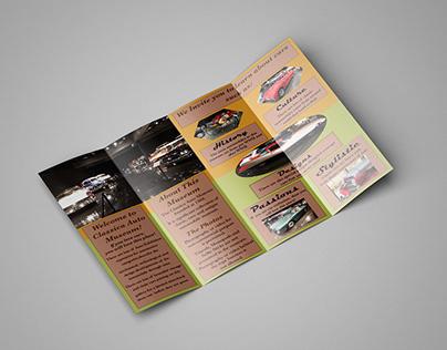 Car Museum Brochure