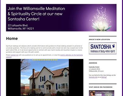 Angie Spiritual Readings Website