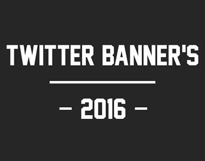 Twitter Banner's