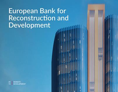 EBRD - Website Development