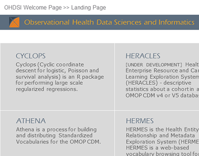 OHDSI / HERMES