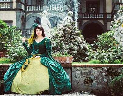 Giorgina as Rossella O'Hara