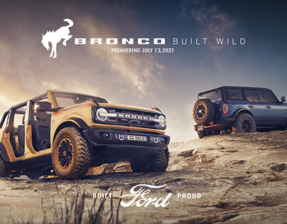 Ford Bronco - Built Wild