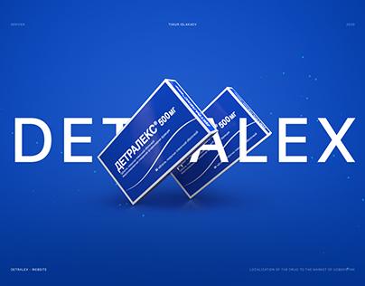 DETRALEX - Pharma Website