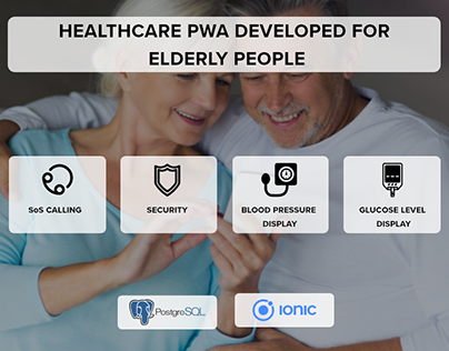 Healthcare PWA Developed Aid Independent Elderly People
