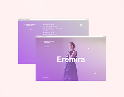 Erëmira | Website Design