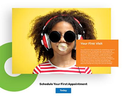 Pediatrics Website Design