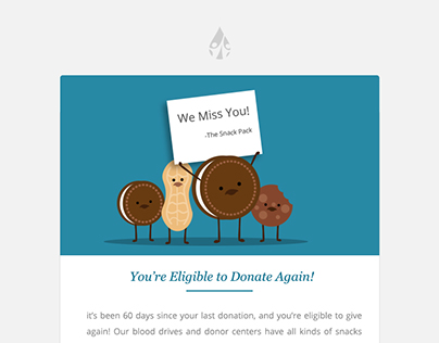Nurture email design