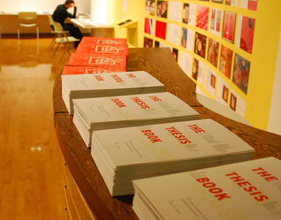 Showcase: The Thesis Book, Exhibition Design